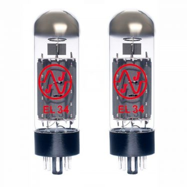2 x JJ matched EL34 power valves