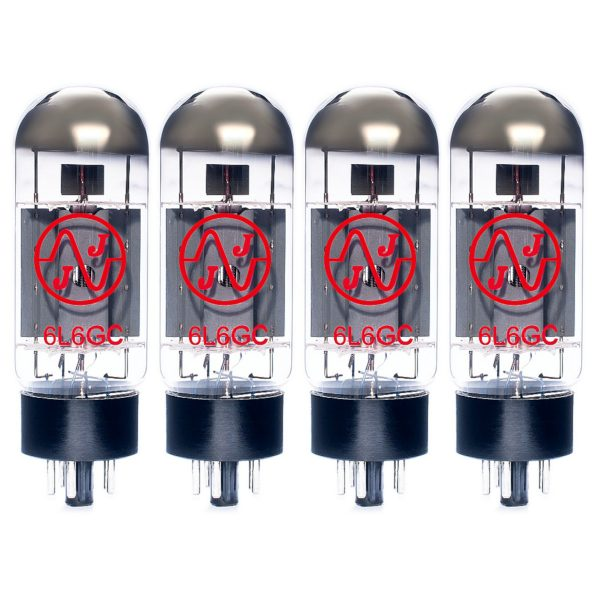 4 X JJ 6L6GC Matched Valves
