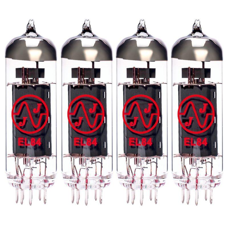 4 x JJ EL84 matched valves for sale