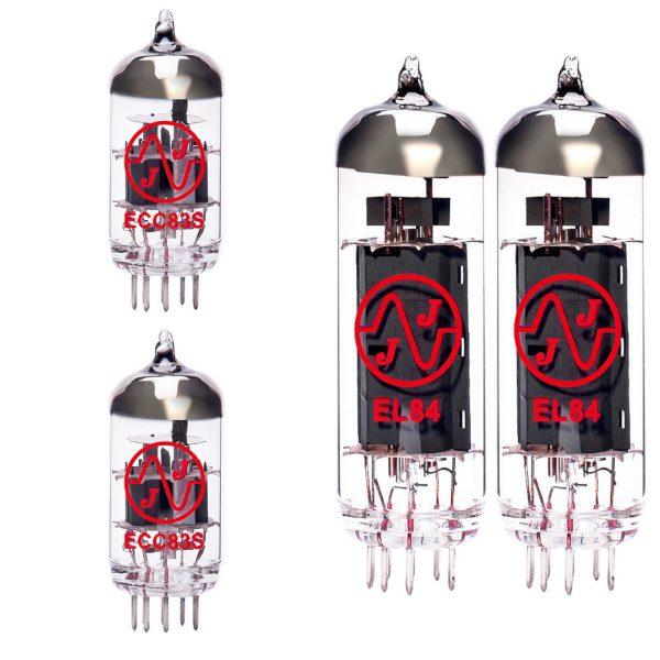 2 x ECC83 and 2 x EL84 matched valve kit