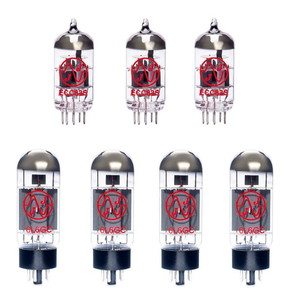 3 X ECC83 and 4 X 6L6GC Valves for Guitar Amplifiers