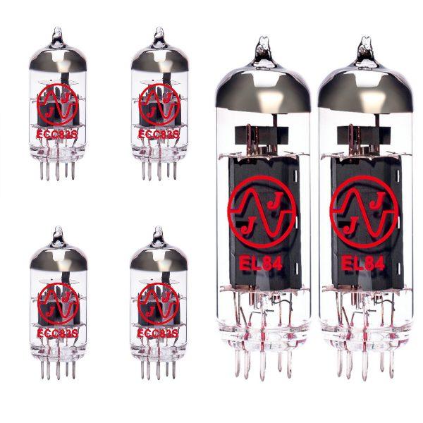 4 x ECC83 and 2 x EL84 matched valve kit