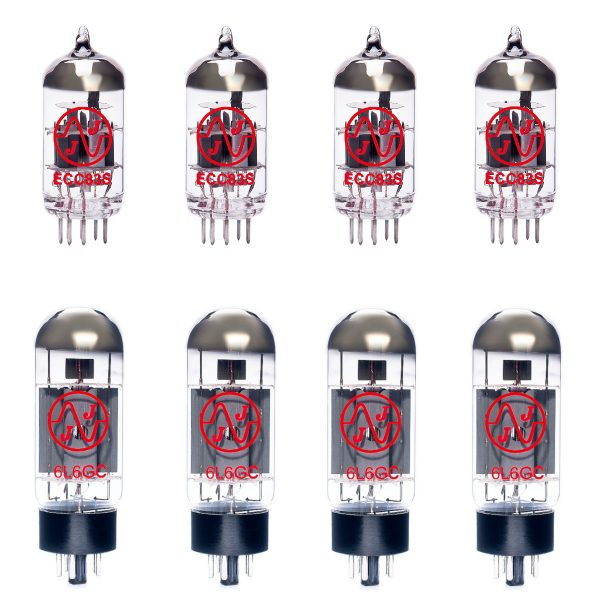 4 X ECC83 and 4 X 6L6GC Valve Kit for amplifiers