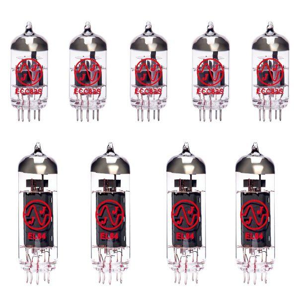5 x ECC83 and 4 x EL84 matched valve kit