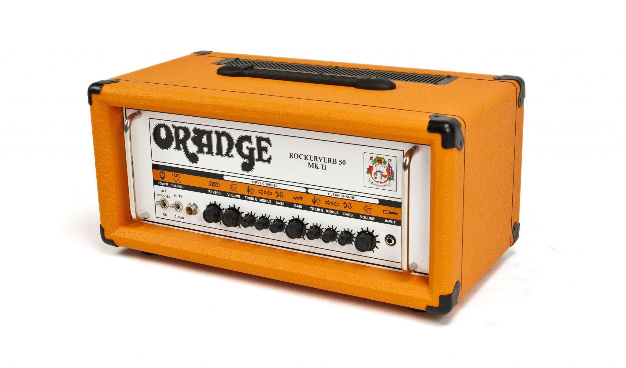 Valves For Orange Rockerverb 50 Mk11 amp head