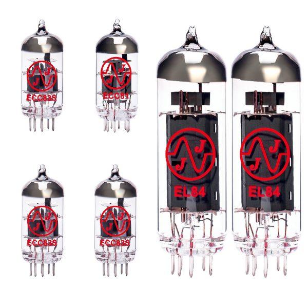 3 X ECC83 1 X ECC81 2 X EL84 Valves For Guitar Amplifiers