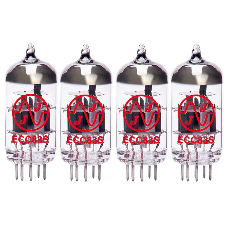 4 X ECC83 Valves For Guitar Amplifiers