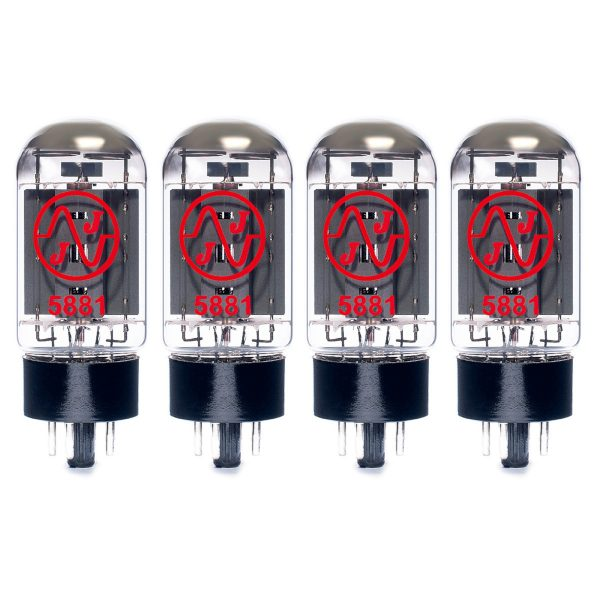 4 x JJ 5881 matched valves