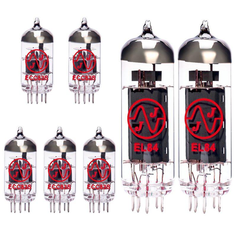 5 X ECC83 2 X EL84 Valves For Guitar Amplifiers