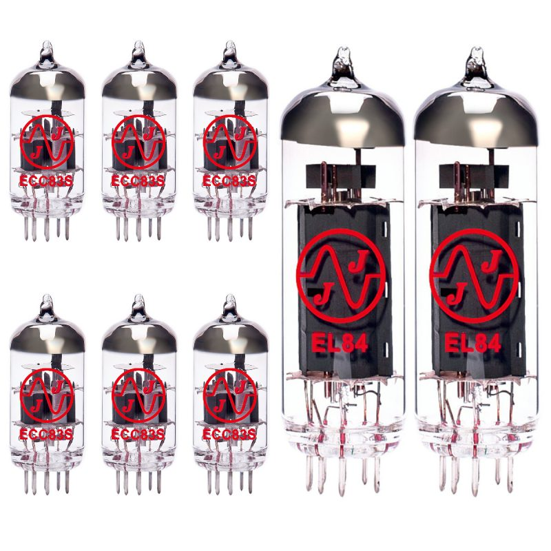 6 X ECC83 2 X EL84 Valves For Guitar Amplifiers