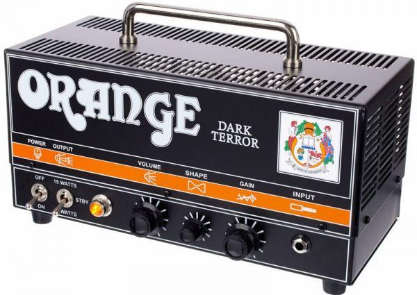 orange dark terror or15h guitar amplifier head