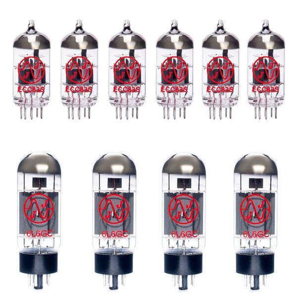 6 X ECC83 4 X 6L6GC Valves For Guitar Amplifiers
