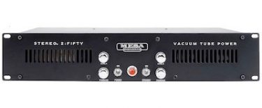 Mesa Boogie Stereo simul-class 2:Fifty Power Amp