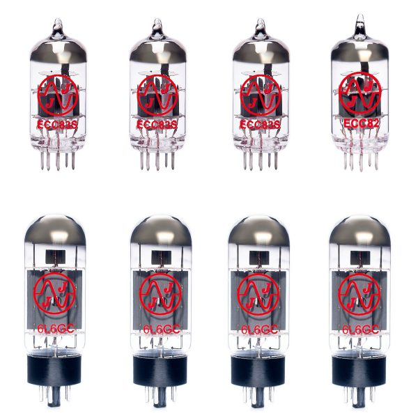 3 X ECC83 1 X ECC82 4 X 6L6GC Valves For Guitar Amplifiers