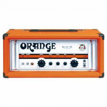 Orange Retro 50