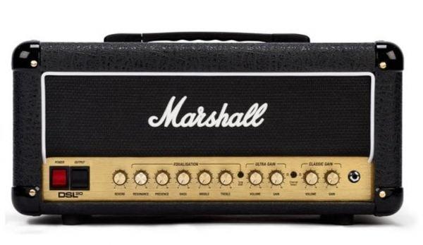 Replacement valve kit for Marshall DSL20HR