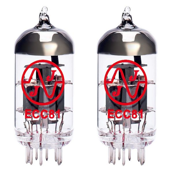 2 X ECC81 Valves For Guitar Amplifiers