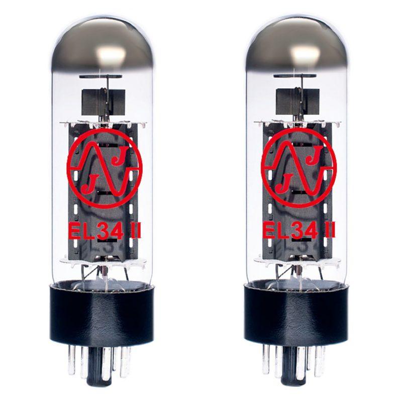2 X EL34II Valves For Guitar Amplifiers