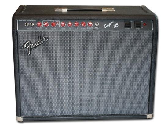 Valves for Fender Super 112