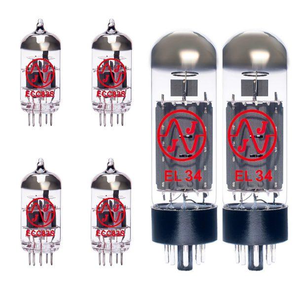 Replacement JJ valve kit for Marshall JCM900 SL-X 50w EL34 amplifier