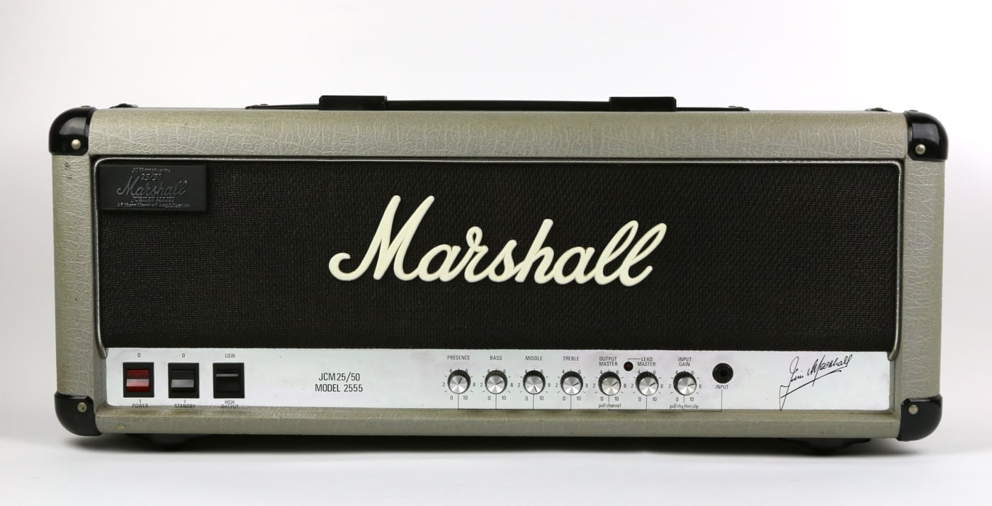 Marshall Silver Jubilee Limited Edition 2555
