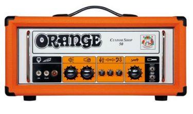 Orange CS50 Custom Shop