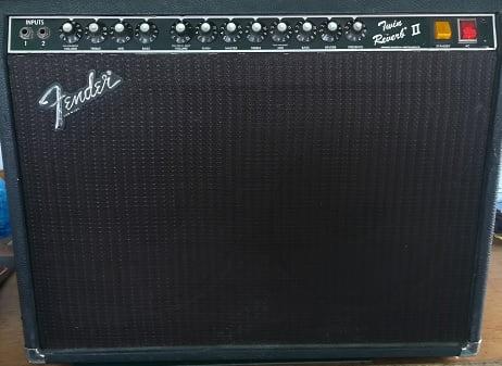 Valves for Fender Twin Reverb II amplifier.