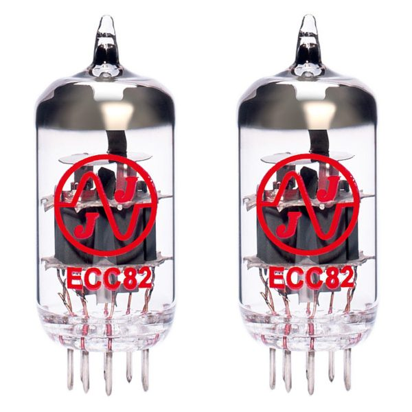 2 X Balanced ECC82 Valves