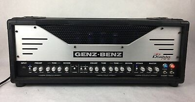 Best Valves For Genz Benz El Diablo 100 Amplifiers