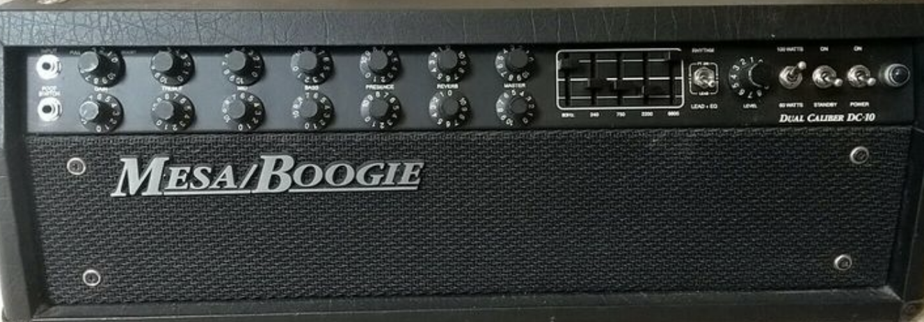 Best Valves for Mesa Boogie Dual Caliber DC10 amplifiers