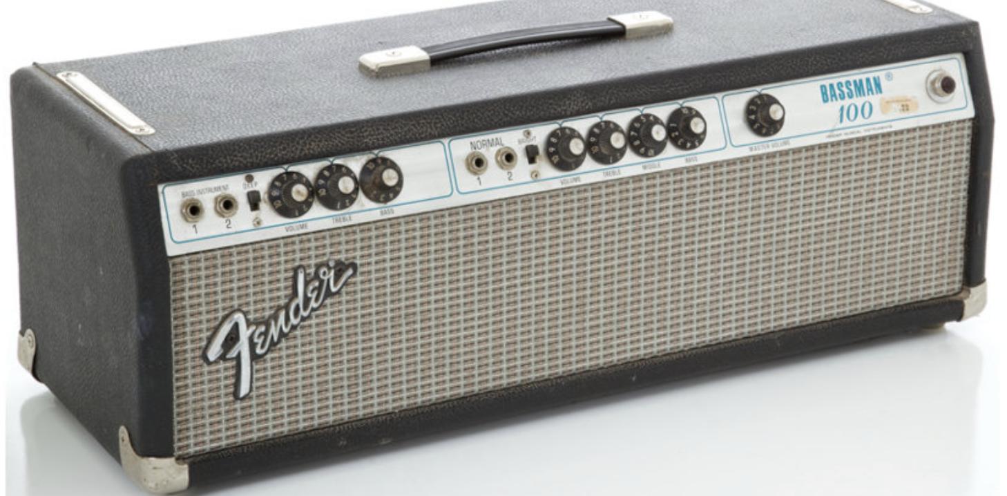 Best valves for Fender Bassman 100 amplifiers