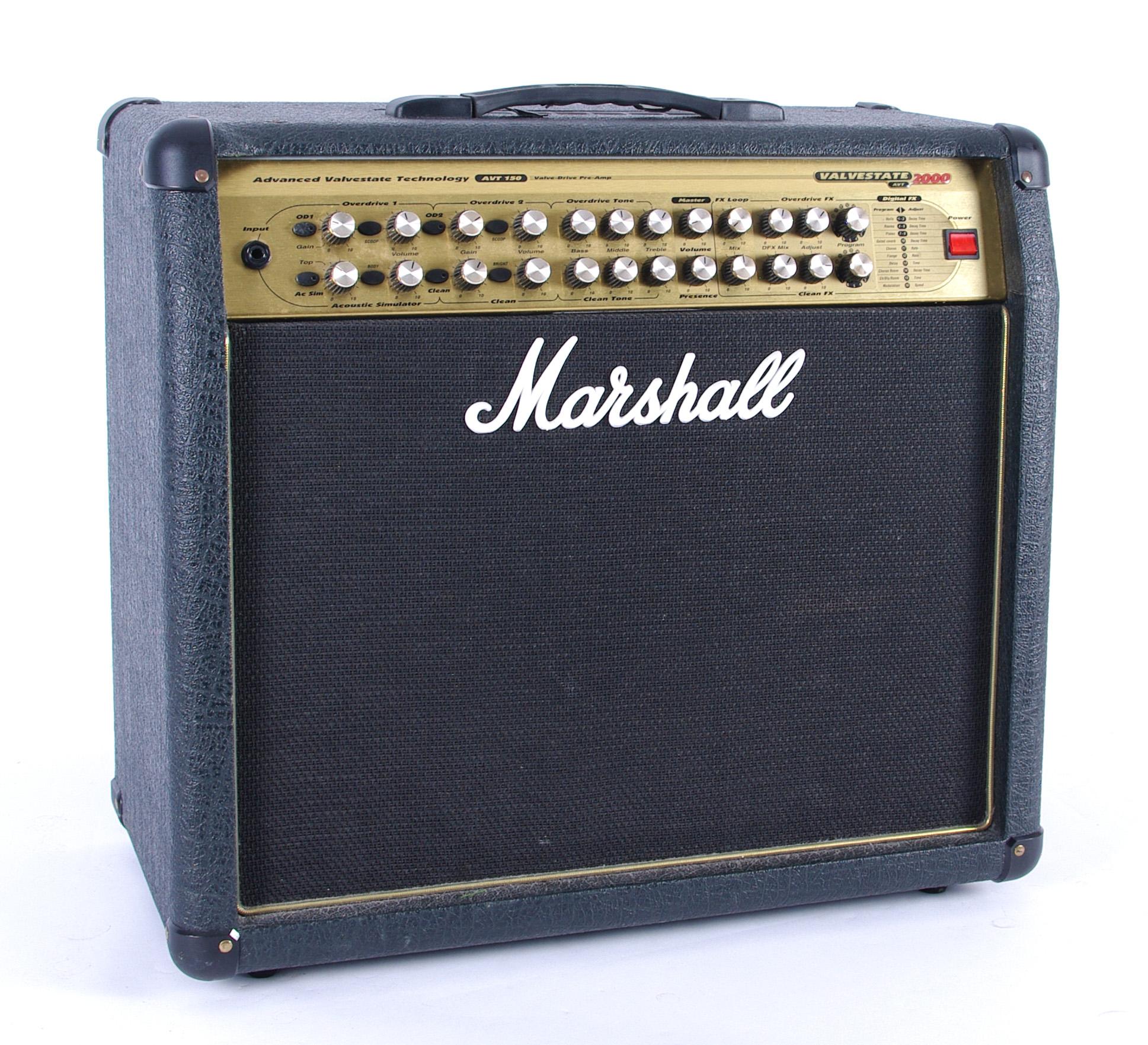 Best valve for Marshall Valvestate 2000 AVT150 amplifier