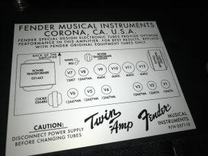 Diagram Of Fender Amp Pro 2 Series Valves