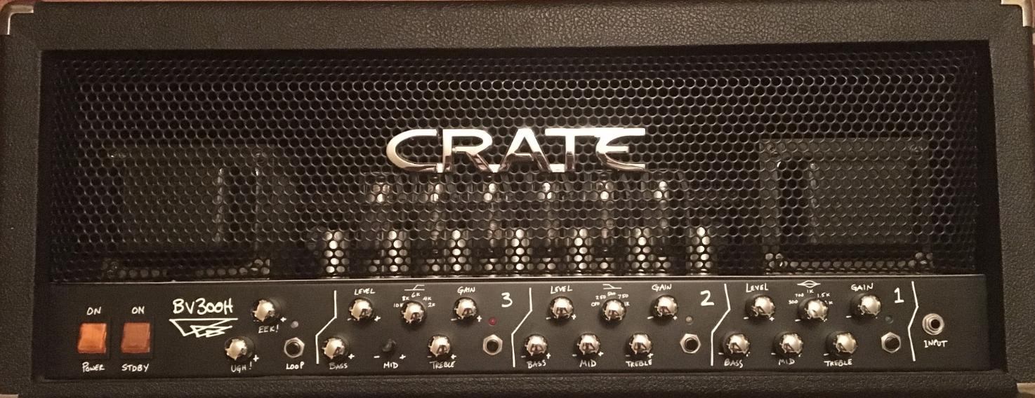 Best valves for Crate Blue Voodoo BV300H amplifier