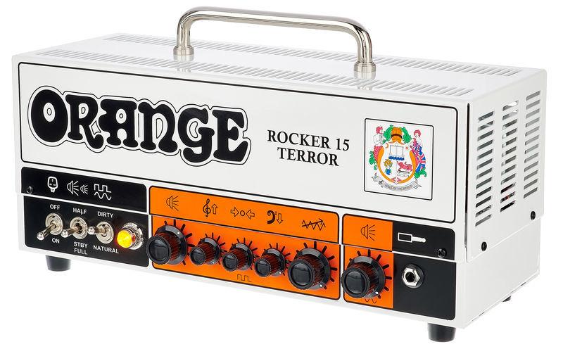 Best Valves for Orange Rocker 15 Terror amplifier