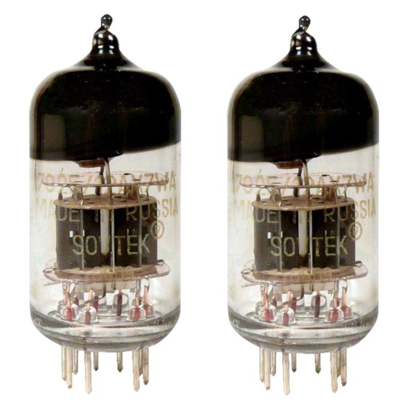 2 X Sovtek 12AX7WA preamp valves