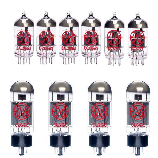 Replacement JJ valve kit for Fender 65 Twin Custom 15 amplifier