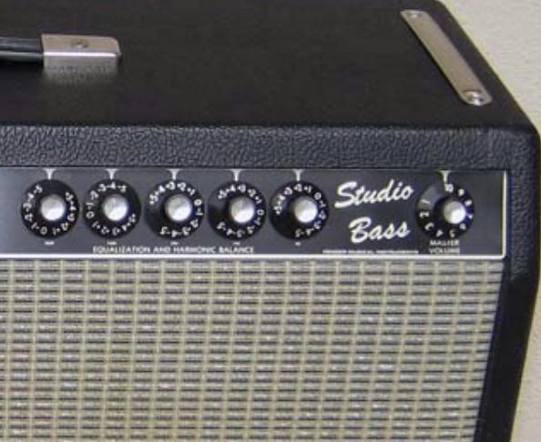 Best valves for Fender Studio Bass amplifier