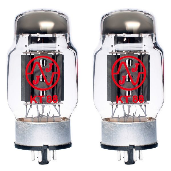 JJ KT88 Power Valve (tube) – Matched Pair New Tested (2 x KT88)