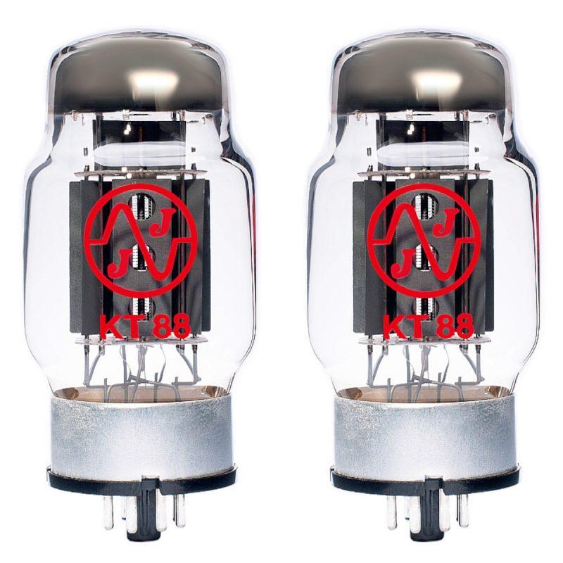 JJ KT88 Power Valve (tube) – Matched Pair New Tested (2 x KT88)