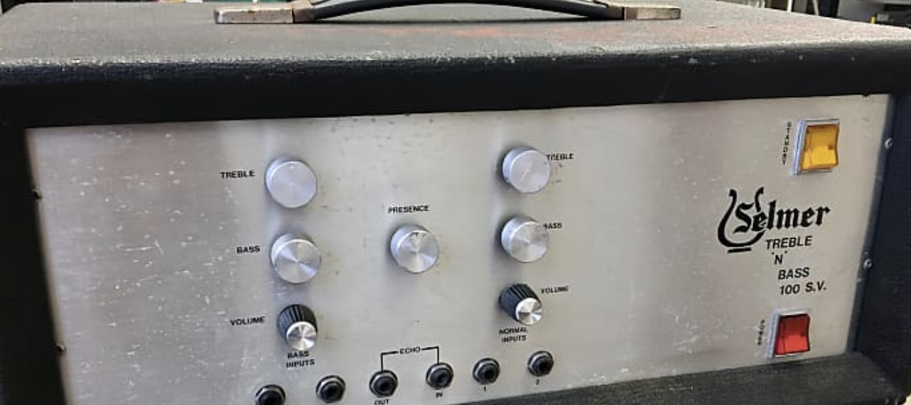 Valves for Selmer Treble n Bass 100w head