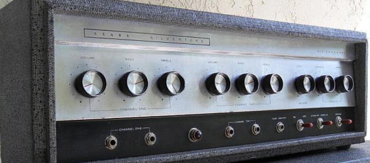 Valves for Silvertone 1485 amplifier