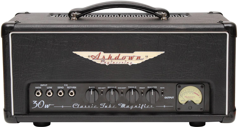 Valves for Ashdown CTM30 bass head
