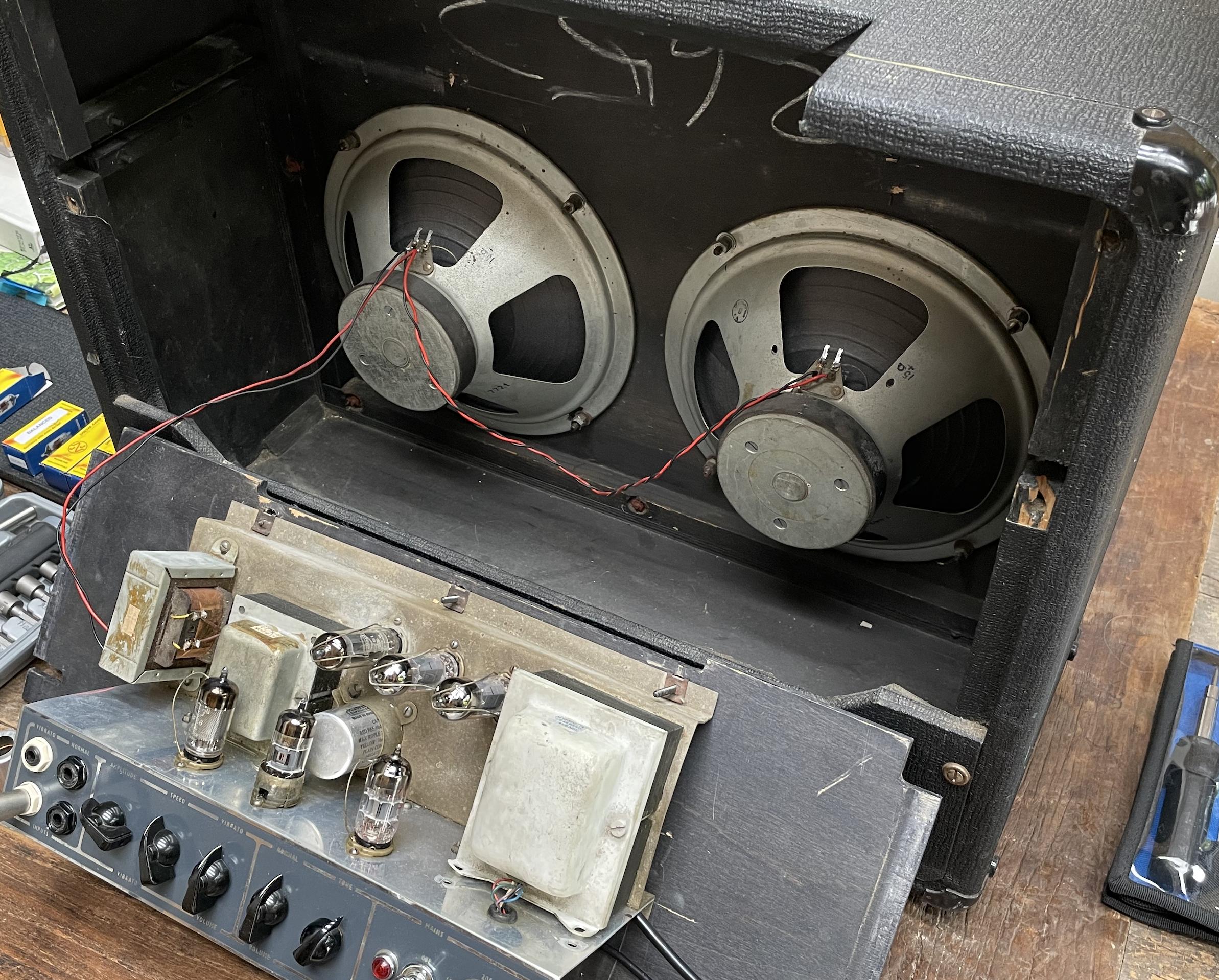 Valves for Vox AC10 Amplifier